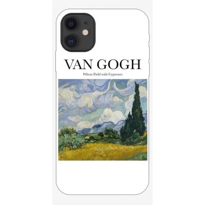 Husa iPhone ART - VAN GOGH - WHEAT FIELD