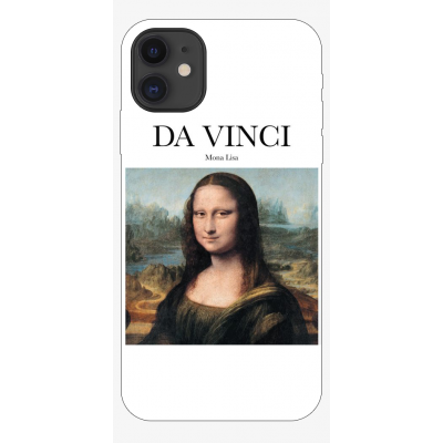 Husa iPhone ART - DA VINCI - MONA LISA