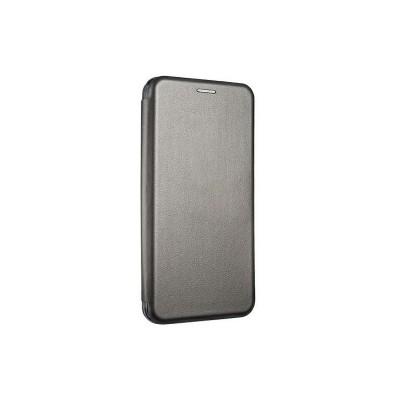 Husa Flip Carte Cu Magnet Compatibila Cu iPhone 12 / iPhone 12 Pro , Gri