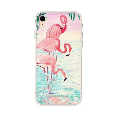 "Husa iPhone XR ""FLAMINGO FAMILY"""