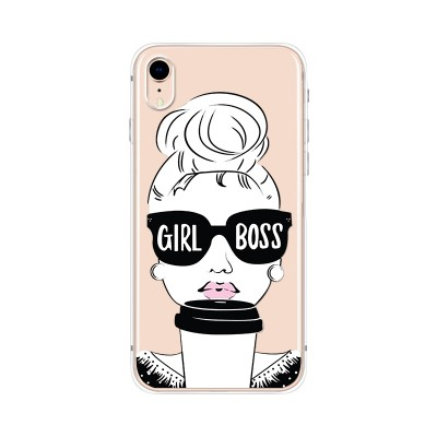 "Husa iPhone XR ""GIRL BOSS"""