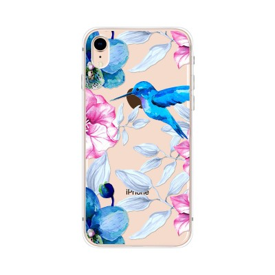 "Husa iPhone XR ""HUMMINGBIRD TOUCH"""
