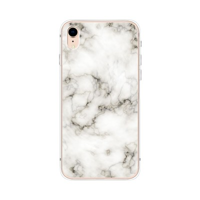 "Husa iPhone XR ""MARBLE WHITE"""