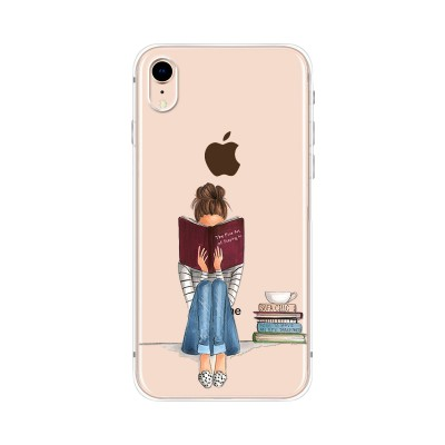 "Husa iPhone XR ""ONLY BOOKS TONIGHT"""
