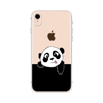 "Husa iPhone XR ""PANDA SAYS HI"""