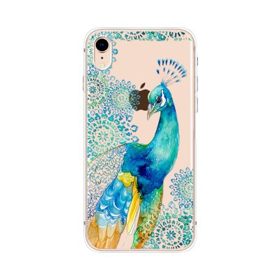 "Husa iPhone XR ""PEACOCK ELEGANCE"""