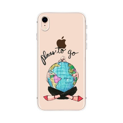 "Husa iPhone XR ""PLACES TO GO"""