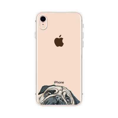 "Husa iPhone XR ""PUG"""
