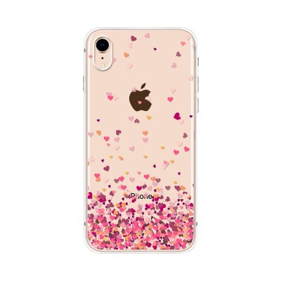 "Husa iPhone XR ""PINK HEARTS"""