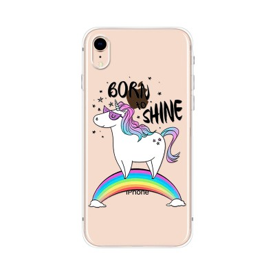 "Husa iPhone XR ""BORN TO SHINE"""