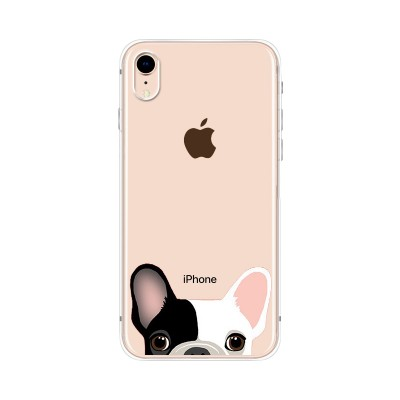 Husa iPhone XR Silicon Premium FRENCH BULLDOG