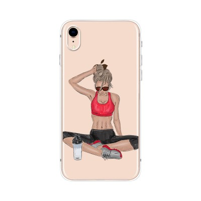 Husa iPhone XR Silicon Premium GYM TIME