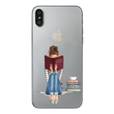 "Husa iPhone X ""ONLY BOOKS TONIGHT"""