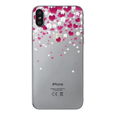 "Husa iPhone X ""LOVE AND FLOWERS"""