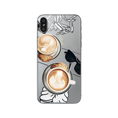 "Husa iPhone X ""CAPPUCCINO LOVER"""