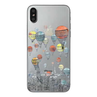 "Husa iPhone X ""AROUND THE WORLD"""