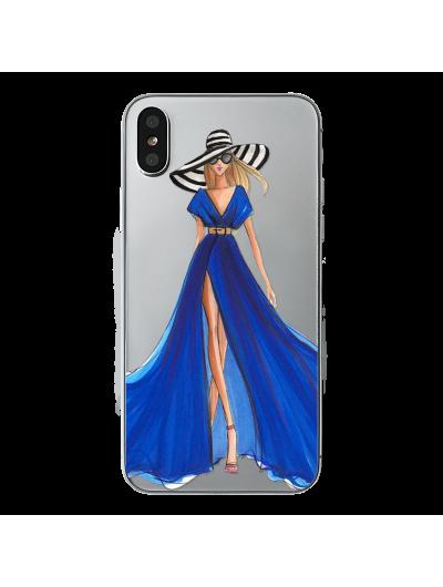 Husa iPhone BLUE SENSATION