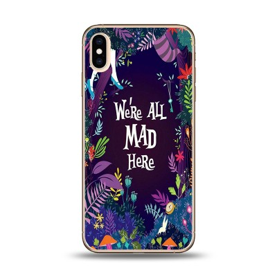 Husa iPhone WE ARE ALL MAD HERE