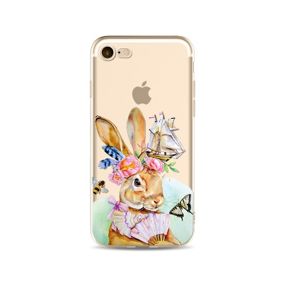 Husa iPhone 7 / iPhone 8 Silicon Premium RABBIT HAS A DREAM
