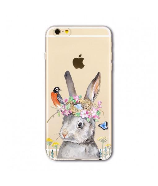 "Husa iPhone 6 / 6S  ""RABBIT HAS A DREAM"""