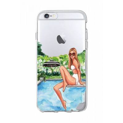 "Husa iPhone 6 / 6S ""CLASSY POOL DAY"""