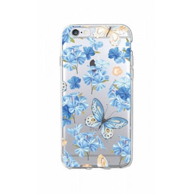 "Husa iPhone 6 / 6S ""FEELING BLUE"""