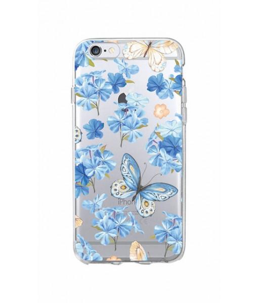 "Husa iPhone 6 / 6S ""FEELING BLUE"""