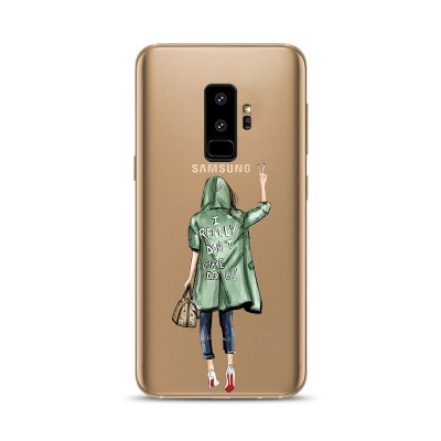 "Husa Samsung Galaxy S9 ""I DON'T CARE"""