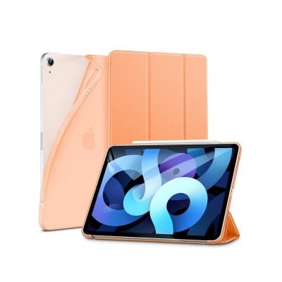 Husa Premium Esr Rebound Slim Jelly Compatibila Cu Apple Ipad Air 4 ( 2020 ), Orange