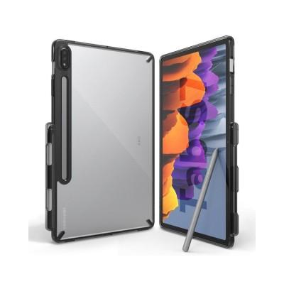 Husa Tableta Ringke Fushion Pc Case Galaxy Tab S7 11inch, Transparenta Cu Rama Fumurie