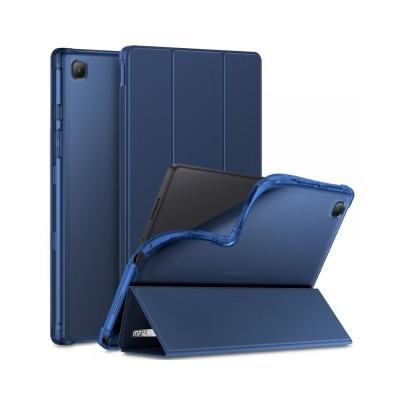 Husa Tableta Infiland Smart Stand Pentru Samsung Galaxy Tab A7 10,4inch , T500 / T505, Albastru