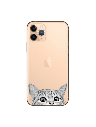 Husa iPhone CURIOUS CAT