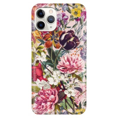 Husa iPhone FLOWERS - PINK