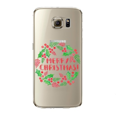"Husa Samsung Galaxy S6 "" A MERRY CHRISTMAS"""