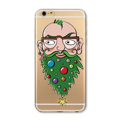 "Husa iPhone 7 / iPhone 8 ""CHRISTMAS BEARD"""