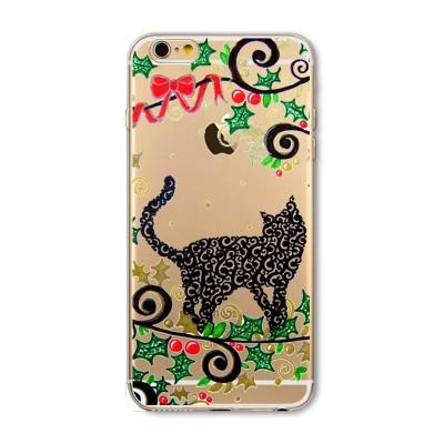 """Husa iPhone 7 / iPhone 8 """"CHRISTMAS CAT"""""""