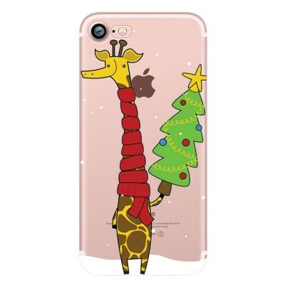 "Husa iPhone 7 / iPhone 8 ""CHRISTMAS GIRAFFE"""