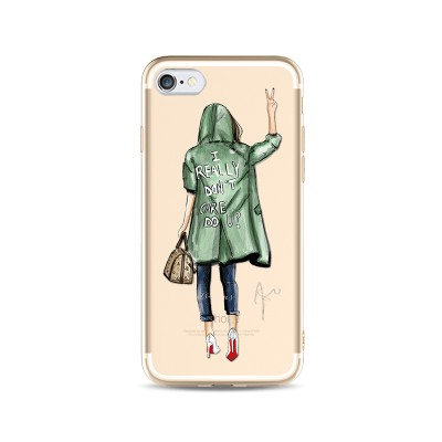 "Husa iPhone 6 / 6S ""I DON'T CARE"""