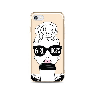 "Husa iPhone 6 / 6S ""GIRL BOSS"""
