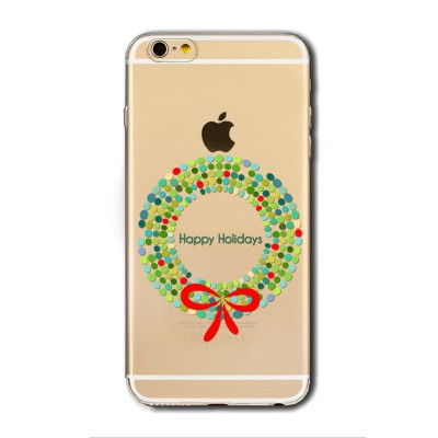 "Husa iPhone 5 / 5S / 5SE ""HAPPY HOLIDAYS"""