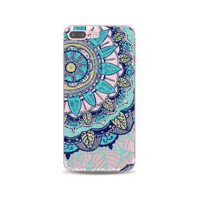 Husa iPhone BLUE PASTEL FLOWER