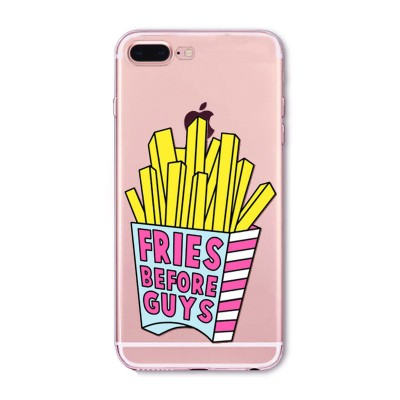 "Husa iPhone 7Plus / iPhone 8Plus ""FRIES BEFORE GUYS"""