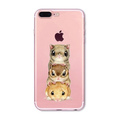 "Husa iPhone 7Plus / iPhone 8Plus ""CHIPMUNKS ON TOP"""