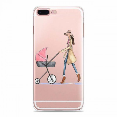 "Husa iPhone 7Plus / iPhone 8Plus ""CHIC MOMMY"""