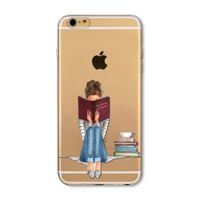 "Husa iPhone 6 / 6S ""ONLY BOOKS TONIGHT"""
