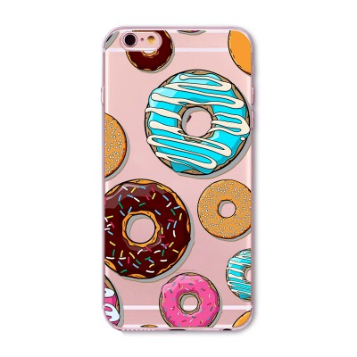 "Husa iPhone 6 / 6S ""DONUTS MADNESS"""