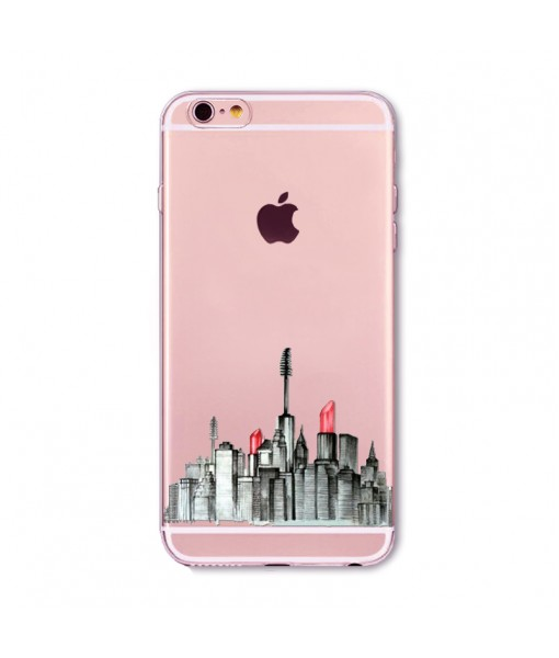 "Husa iPhone 6 / 6S ""MAKEUP CITY"""