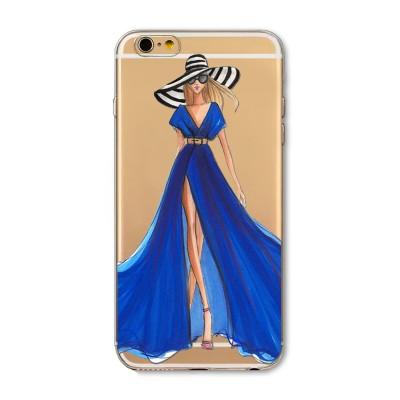 "Husa iPhone 6 / 6S ""BLUE SENSATION"""