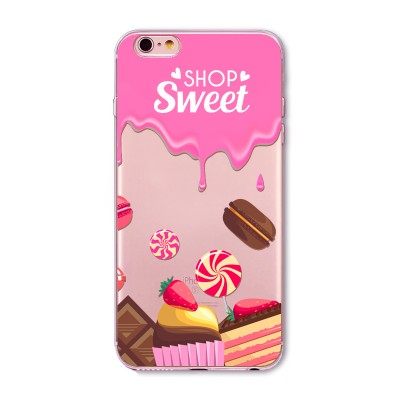 "Husa iPhone 6 / 6S ""SWEET SHOP"""