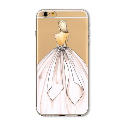 "Husa iPhone 6 / 6S ""BUTTERFLY DRESS"""